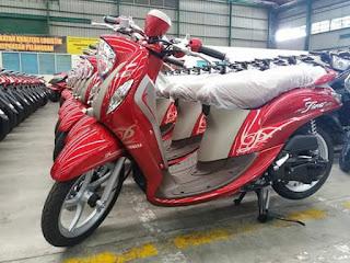 Inikah Warna Baru Yamaha Fino 2017?