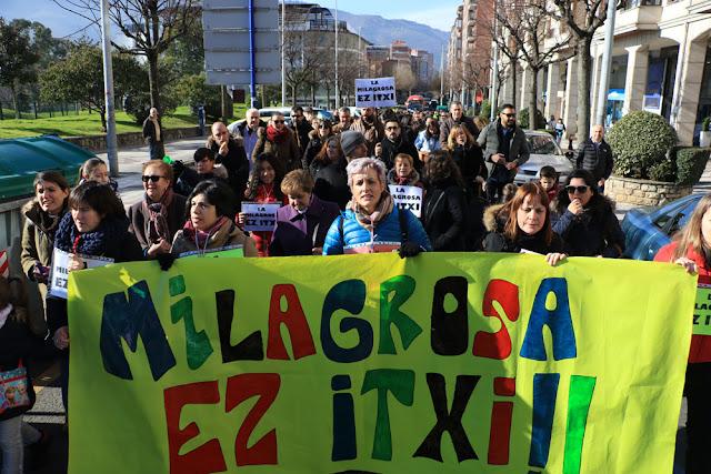 Educación propone a las familias de La Milagrosa prematricular a sus hijos en Rontegi y Minas