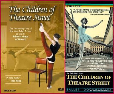 Дети с Театральной улицы / The Children of Theatre Street. DVD. 1977.