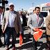 Da banderazo Alcalde a obras de recarpeteo en avenidas