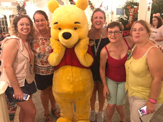 Meeting Winnie The Pooh and Friends at Crystal Palace
