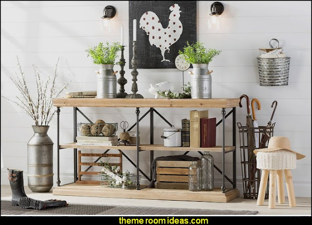 RUSTIC industrial farmhouse kitchen rustic industrial farmhouse decorating - Industrial farmhouse decor - rustic farmhouse decor - industrial farmhouse living - barn door decor - rustic farm style deccor -  Modern Farmhouse decor - Sliding barn Doors - modern industrial farmhouse decorating - Windmill Table Decor