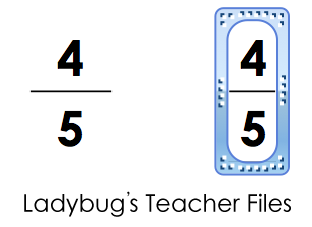 Create a table in PowerPoint to set up fractions.