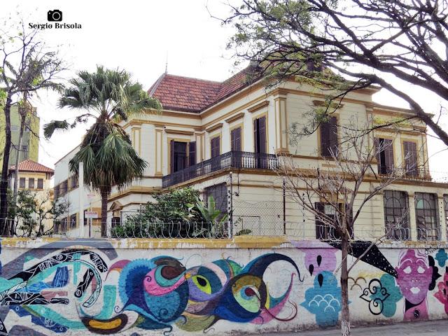 Vista ampla do Antigo Liceu Nossa Senhora de Loreto - Campos Elíseos - São Paulo