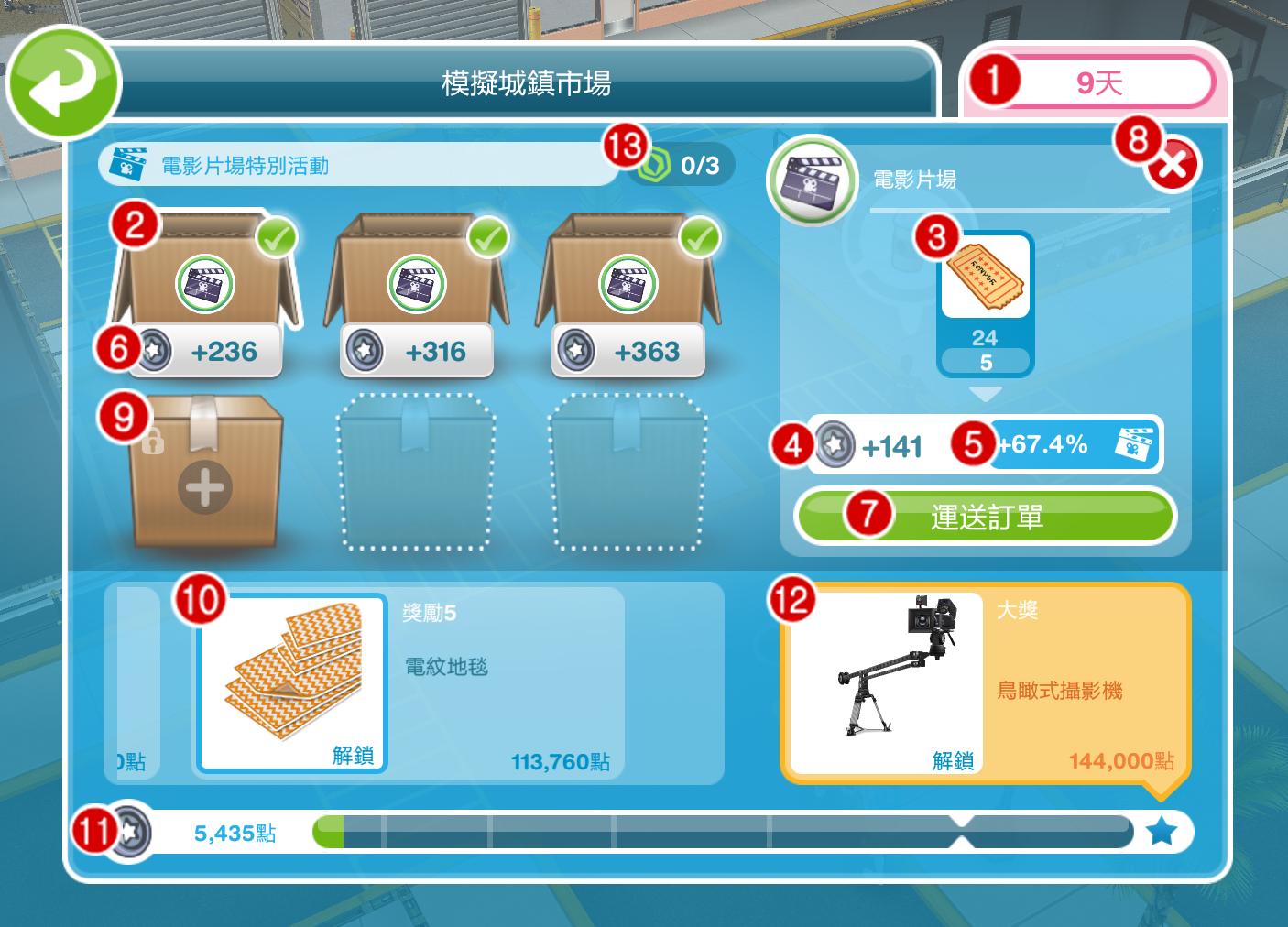 初夏的極光: 【攻略】The Sims FreePlay - 模擬城鎮市場教學