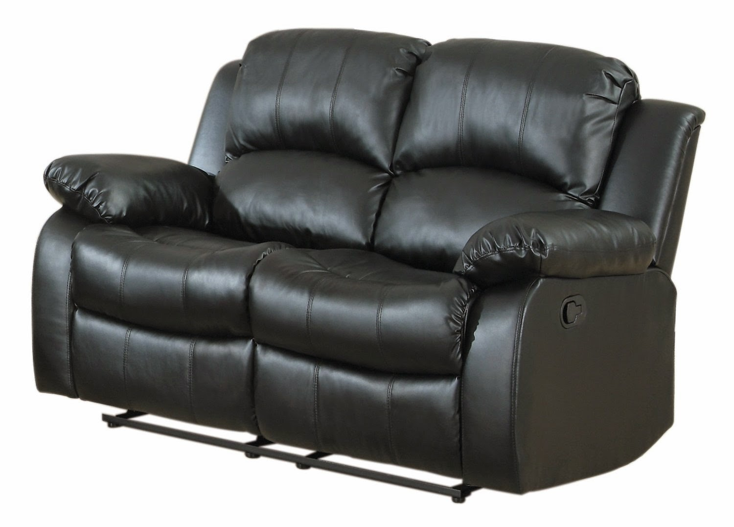 Cheap recliner sofas for sale black leather reclining for Leather sofas for sale