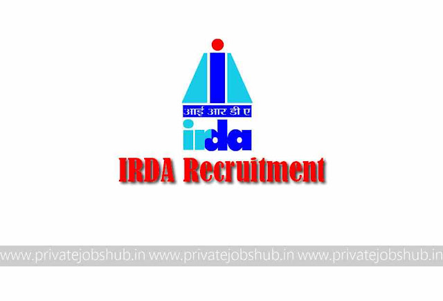 IRDA Recruitment