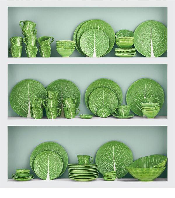 Lettuce Ware - French For Pineapple Jug