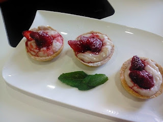 Tarte aux fraises du Tata Hbiba