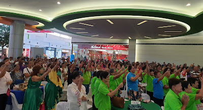 MORE THAN 600 SENIOR CITIZENS GATHER FOR TALENT DISPLAY AT SM CITY