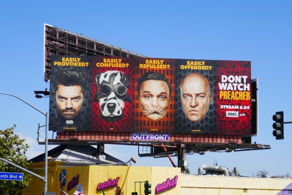 Dont watch Preacher season 3 billboard