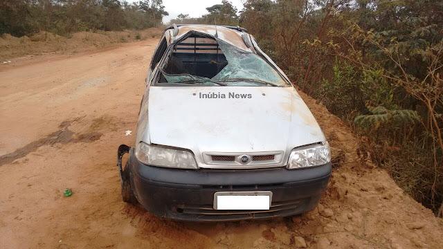 Morre no hospital a 1ª vítima do acidente na estrada que liga Piatã a Inúbia