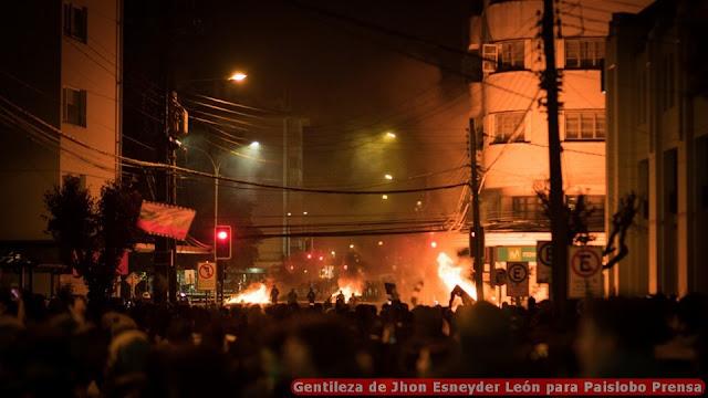 Manifestaciones en Osorno