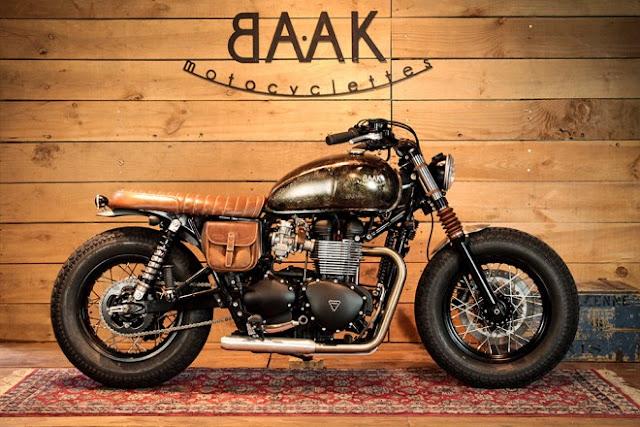 BAAK Motorcyclettes Bonneville Bobber