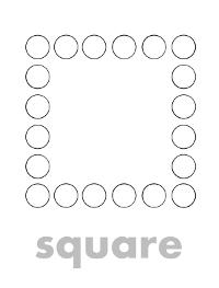 Palmer Practicality: Do a Dot Printables- Shapes