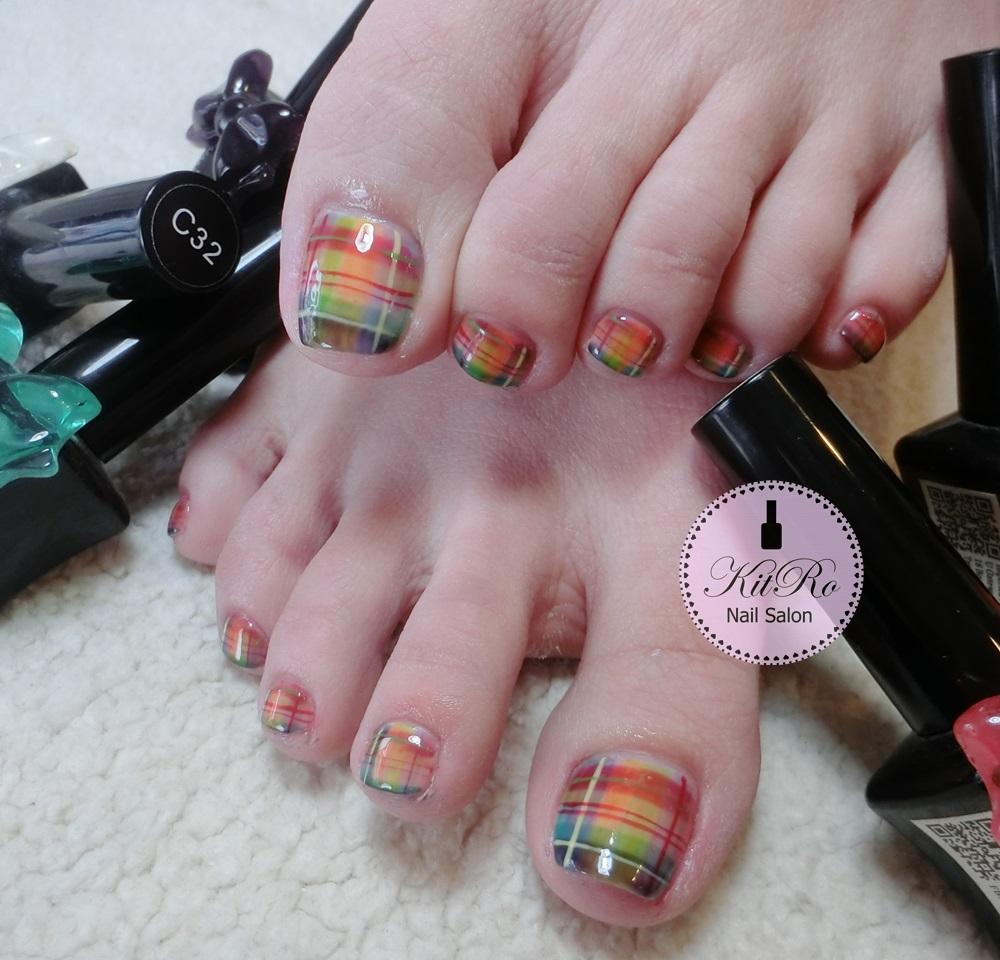 Kit-Ro Nail Salon: August- Nail Design