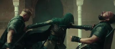 Estupendas coreografías de lucha