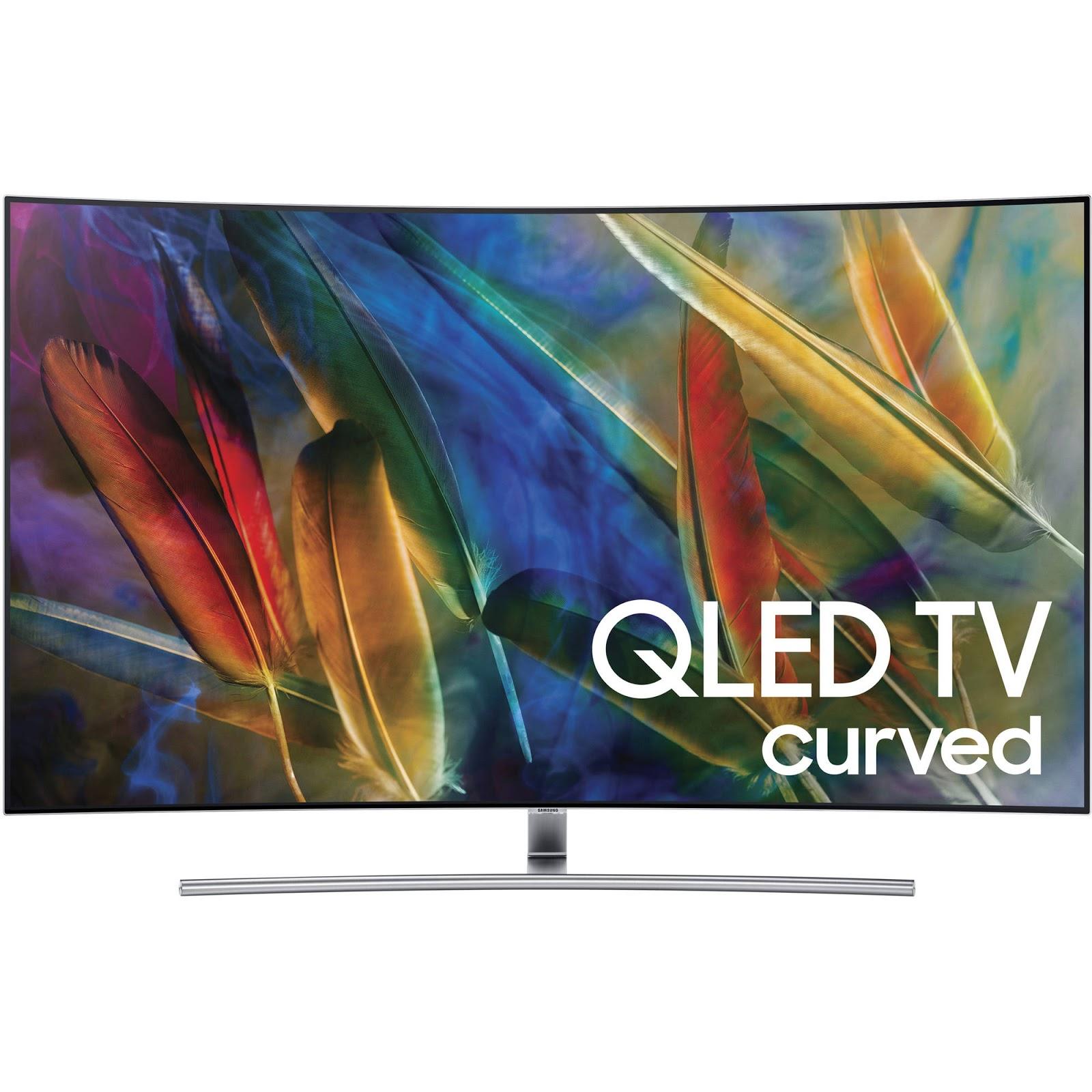 "Samsung 55"" Class Curved 4K (2160P) Smart QLED TV"