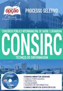 Apostila do CONSIRC - Consórcio de Saúde de Catanduva-SP