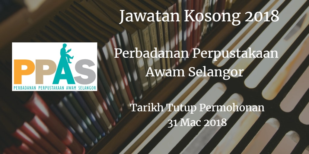 Jawatan Kosong PPAS 31 Mac 2018