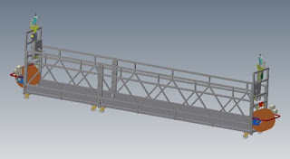 HANGER WITH PULLEY SCAFFOLDING