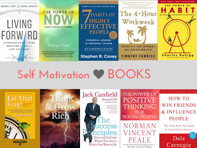 Recommended Self Motivation Books for Everyone