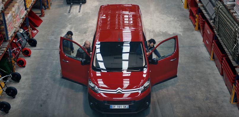 Canzone Nuovo Citroën Jumpy  pubblicità con furgone rosso - Musica spot Ottobre 2016