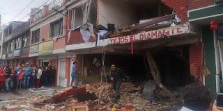 Fuerte explosión en Bogotá deja por lo menos 4 muertos