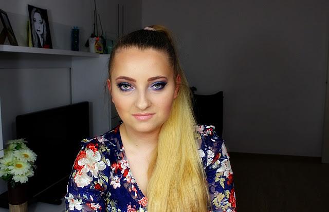 """Wyzwanie makijażowe z Blondlove. Tydzień I """" Makijaż mojego życia'"""