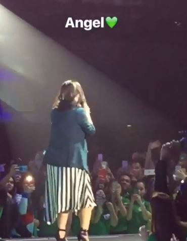 WATCH: Angel Locsin Serenades The Crowd During Mang Inasal National Convention 2018!