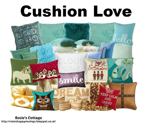 Release your inner designer with Polyvore - Cushion Love by Rosies Cottage