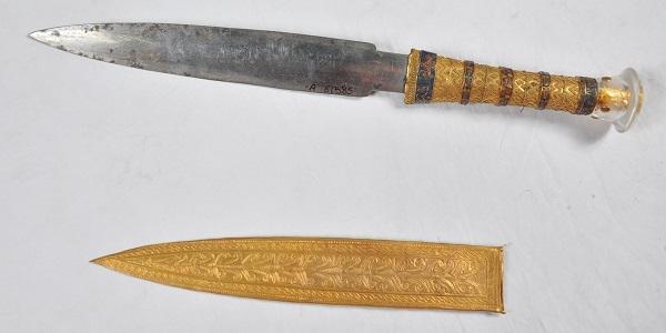 Une étude révèle qu'une dague de Toutankhamon est en fer provenant d'une météorite