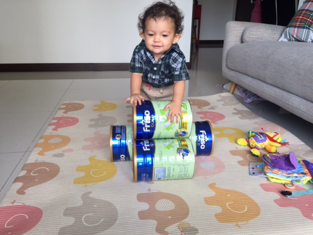 Used Toys For Toddlers : A thing or two about holly jean: repurposing old milk tins into toys