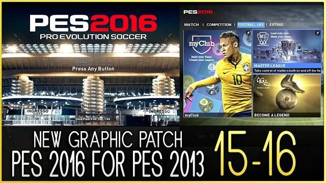 PES 2013 Graphic pes 2016