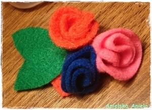 DIY Tutorial / fabric rose  Brooch / Jak uszyć kwiatki z kawałka dżinsu? / Co można zrobić ze skrawków dżinsów?