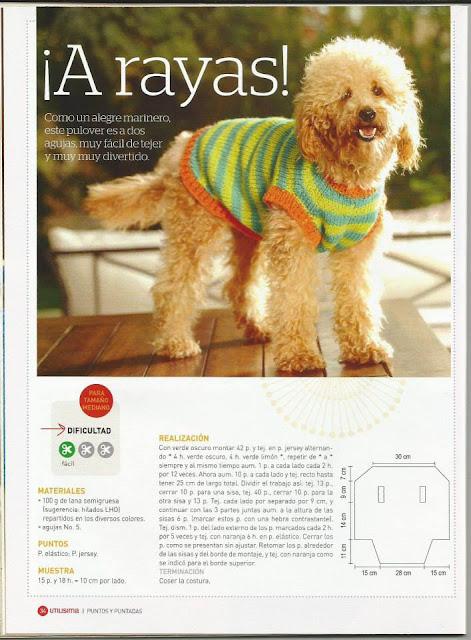 Patrón de camisón para perro