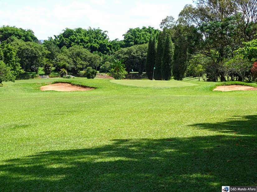 Campo de Golfe - Onde ficar em São João Del Rei - review hotel Garden Hill
