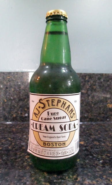 AJ Stephans Cream Soda