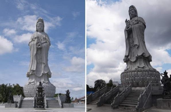 Cerita Tentang Kota Pematangsiantar - Pesona Patung Dewi Kwan Im yang Tertinggi di Asia Tenggara