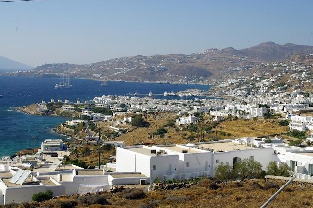 Tharroe of Mykonos Views of Mykonos Town