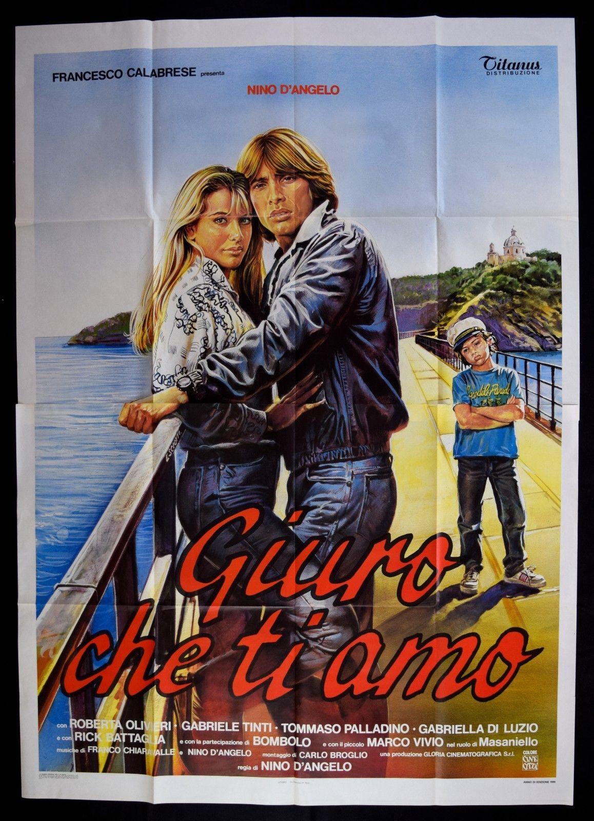 Chez Roubis Gabriele Tinti Fan Blog Giuro Che Ti Amo 1986
