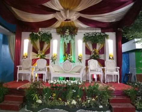 dekorasi pernikahan sederhana murah jogja yogyakarta
