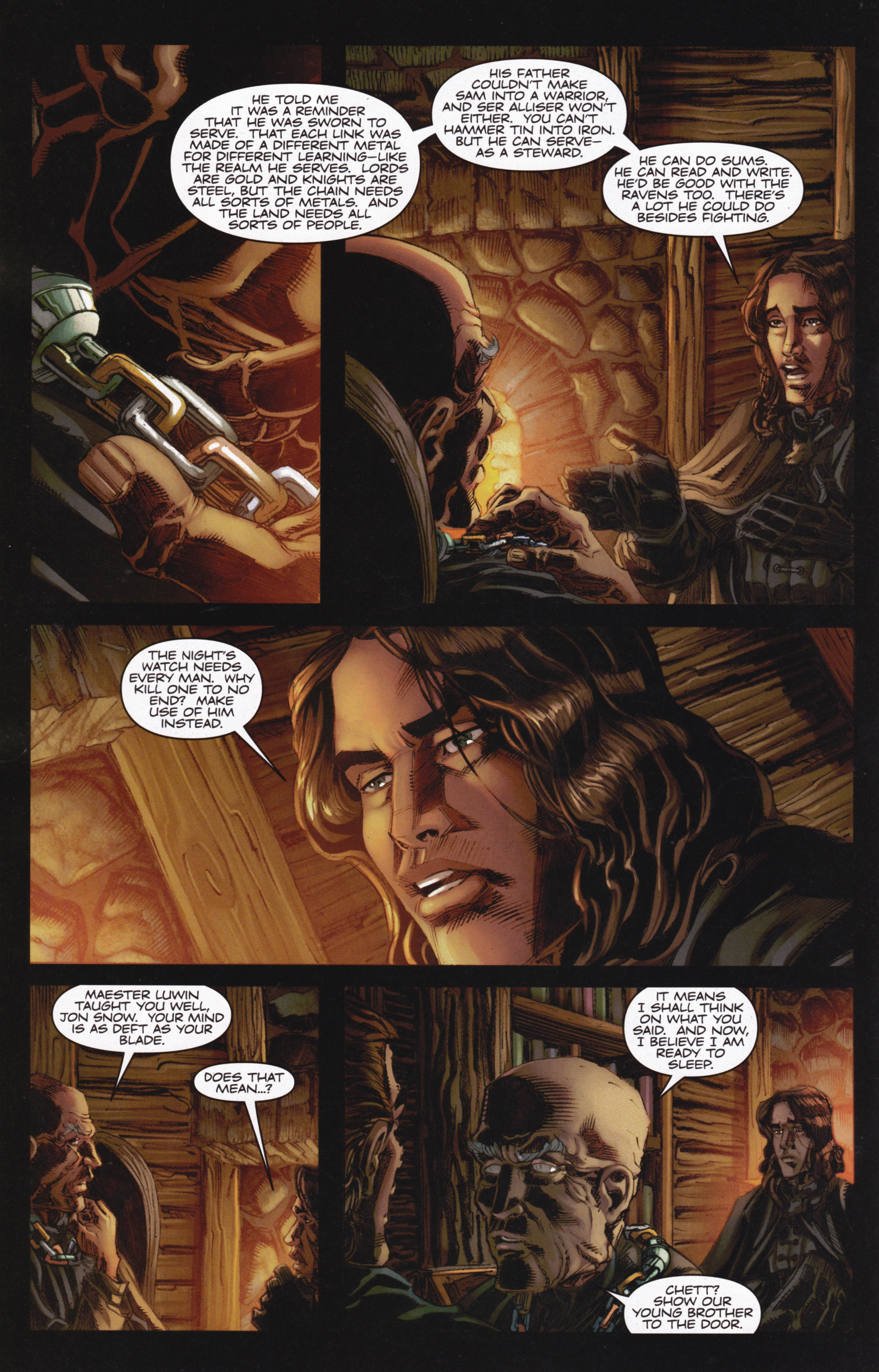 Read online A Game Of Thrones comic -  Issue #13 - 18