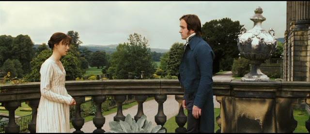 Escena de la película Orgullo y Prejuicio