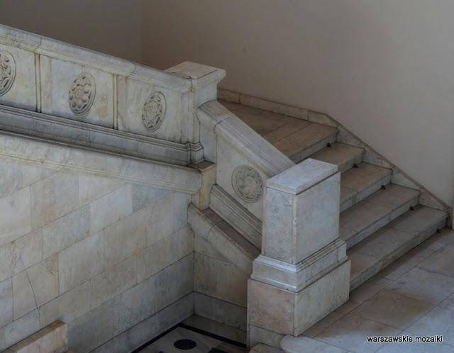 schody klatka schodowa Warszawa Warsaw detale PRL socrealizm architektura