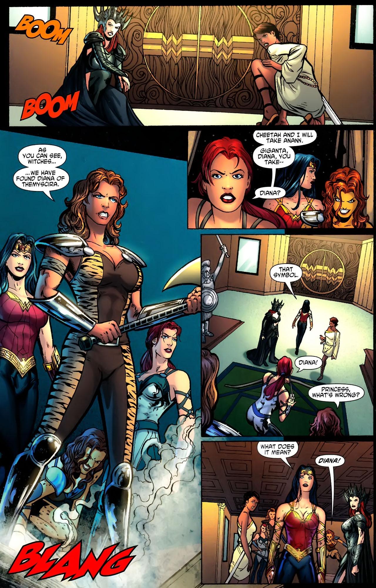 Read online Wonder Woman (2006) comic -  Issue #611 - 8
