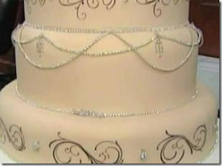 biggest wedding cake in dallas cakes in 3 d diamonds and crystals 11746