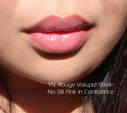 Ysl Rouge Volupt 233 Shines The Beauty Look Book