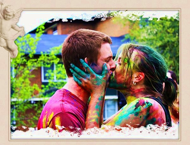 Happy holi 2015 wishes for Girlfriend and boyfriend