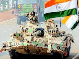 Makin Memanas Kini India Kirim 100 Tank Ke Wilayah yang berbatasan dengan CHINA - Commando